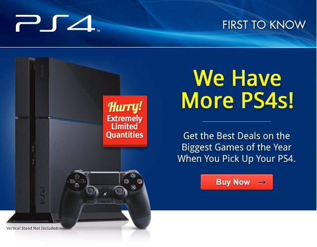 GameStop PS4